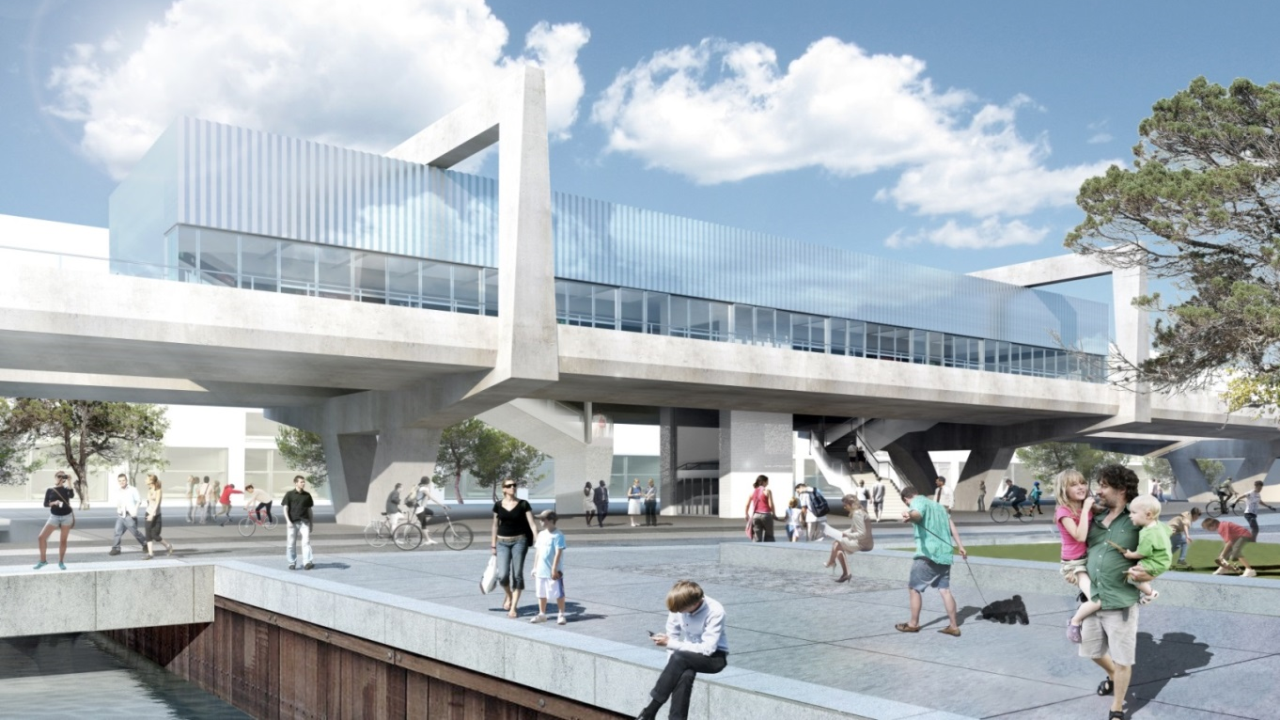 Orientkaj Station will be one of the new metro stations in Nordhavnen