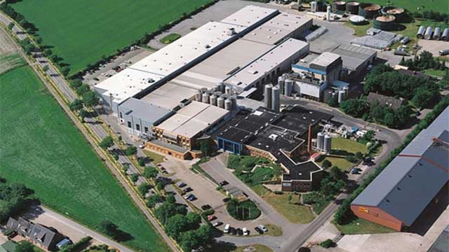 Aerial photo of ArNoCo GMBH - lactose factory