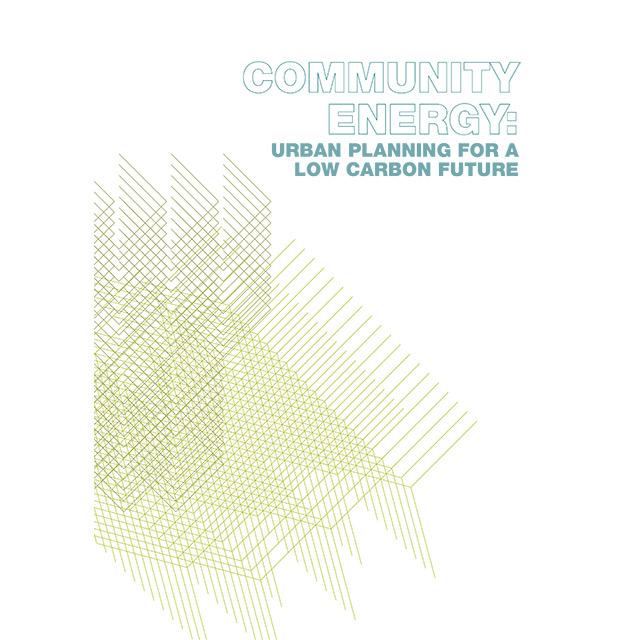 Front page of the guide Community energy – Urban planning for a low carbon future (UK)