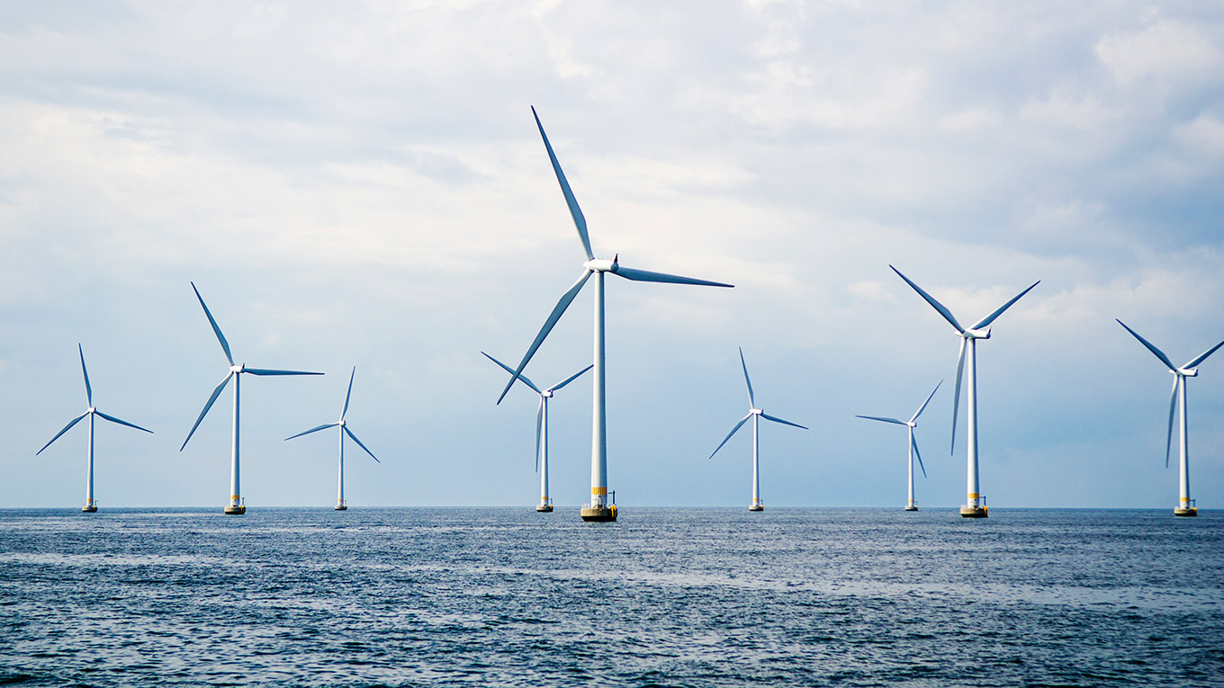 Offshore Wind Ramboll Uk Limited Towers Great Rock Windpower The Energy Sector Has An Annual Growth Rate Of 20 30 Percent And Can Help Maintain Security Global Supply