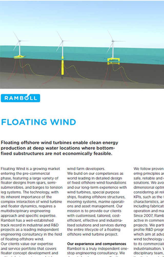 Wind energy - Ramboll UK Limited