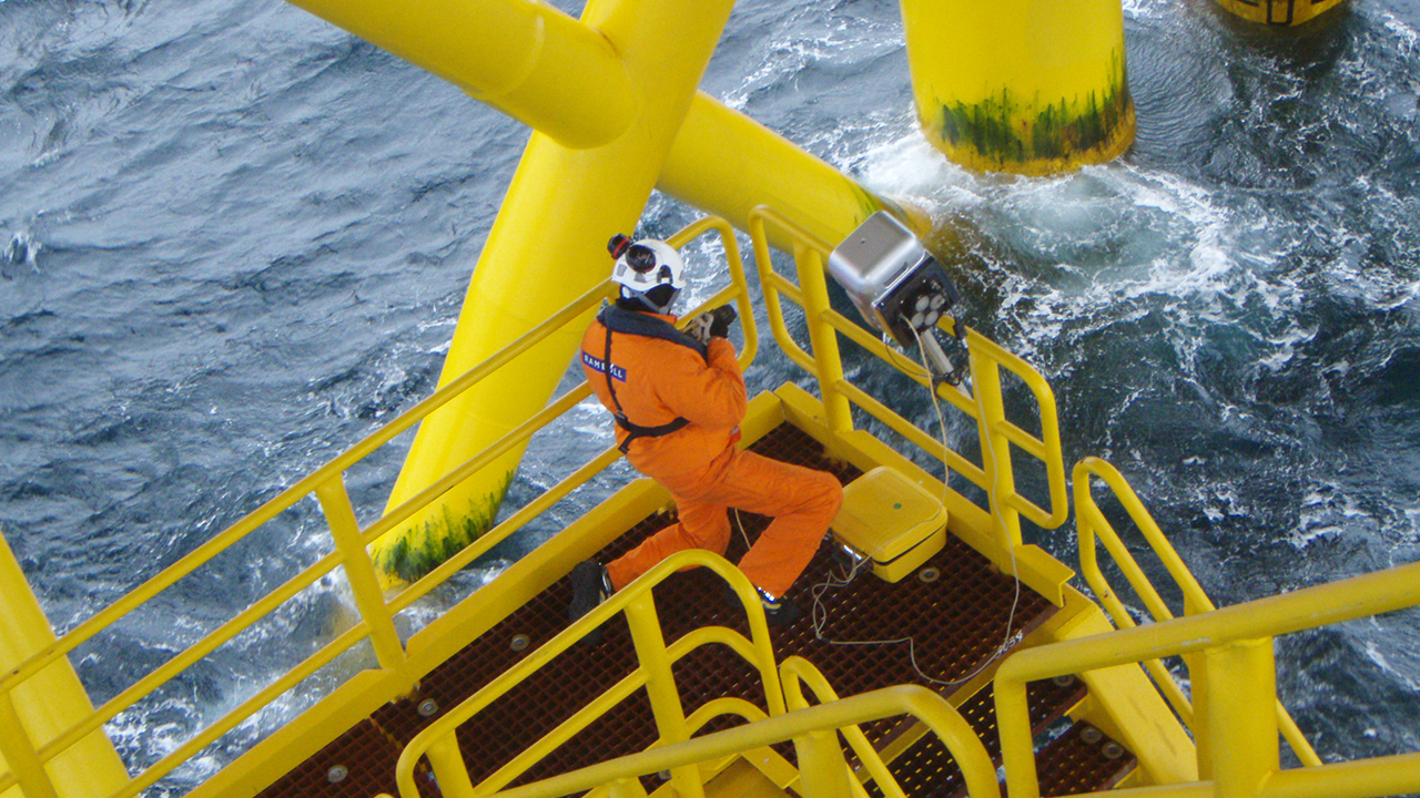 3D surveying on offshore platform