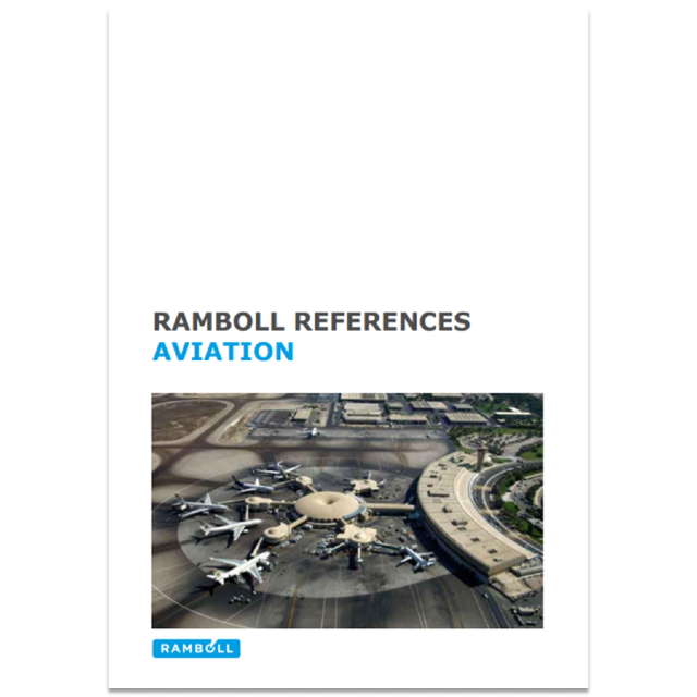 Ramboll aviation references 2018