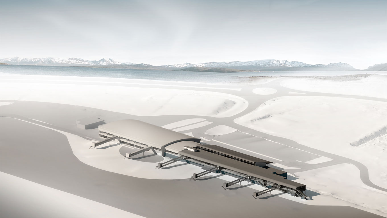 Tromsø airport visualisation
