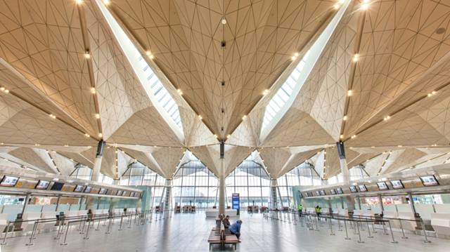 Grimshaw. As lead design consultant, Ramboll engineered the design vision for Pulkovo, a focal point of which is the innovative and striking long span roof that delivered significant cost savings.