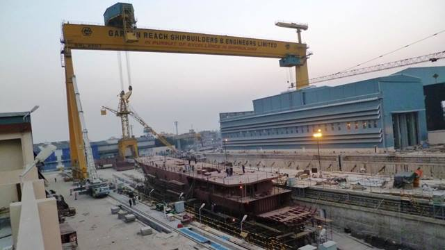 Ramboll. Garden Reach Shipyard, Kolkata, India. Ramboll was responsible for the full design (concept to detail) and construction supervision of this major US$100m shipyard upgrade which will increase productivity by a factor of 3.