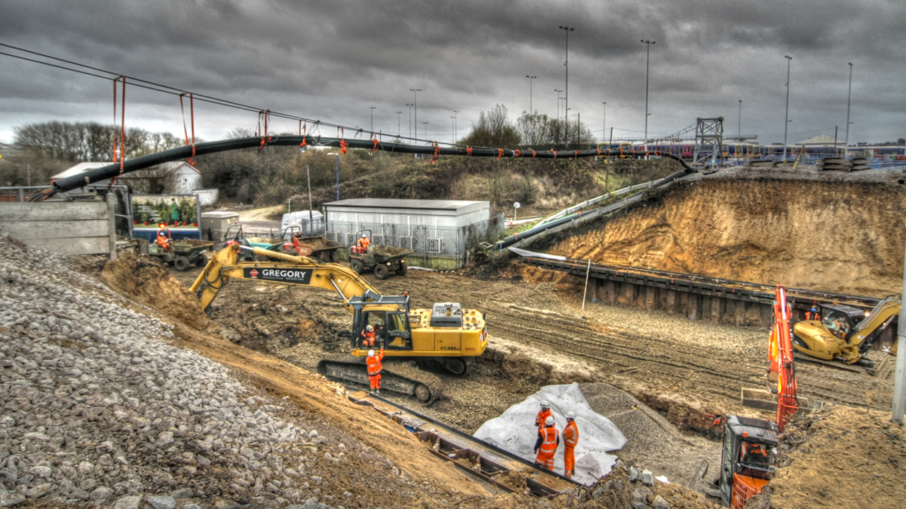 Reading West Curve bridge replacement. Ramboll
