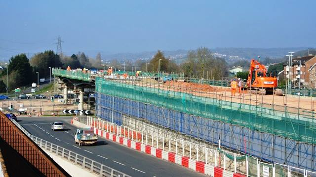 Ramboll. The Penn Inn Flyover is constructed over the heavily congested roundabout. For the approach ramps, reinforced earth walls were preferred to reinforced concrete reducing the need for heavy plant