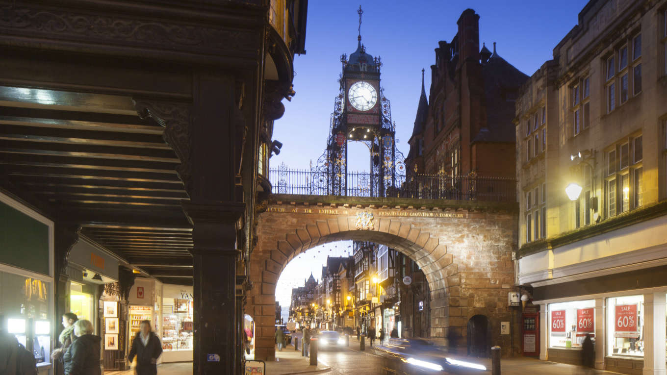 Eastgate and its world-renowned clock