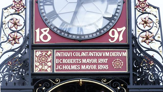 The restored clock detail. Image - Andy Marshall