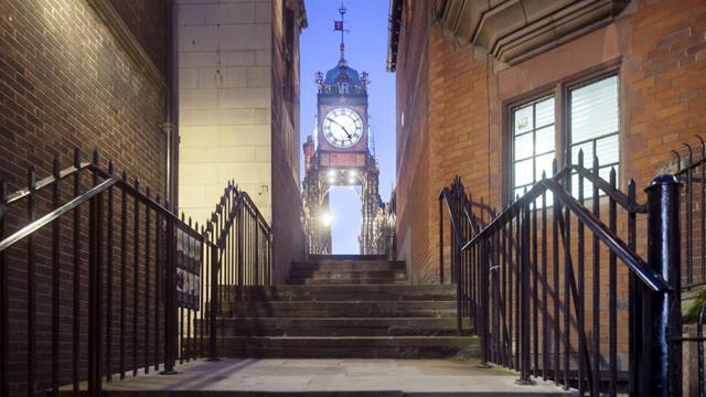Approach to the Eastgate clock. Image - Andy Marshall