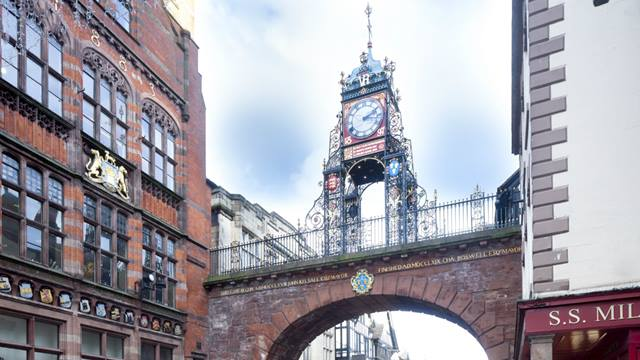 Eastgate clock. Image - Andy Marshall
