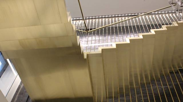Ramboll. Estee Lauder Bespoke Staircase, 1 Fitzroy Place.