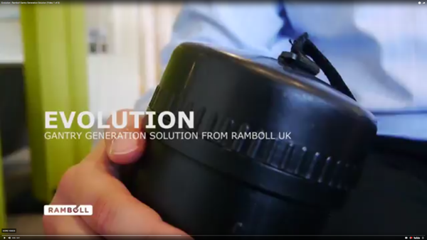 Gantry design video - Evolution. Ramboll