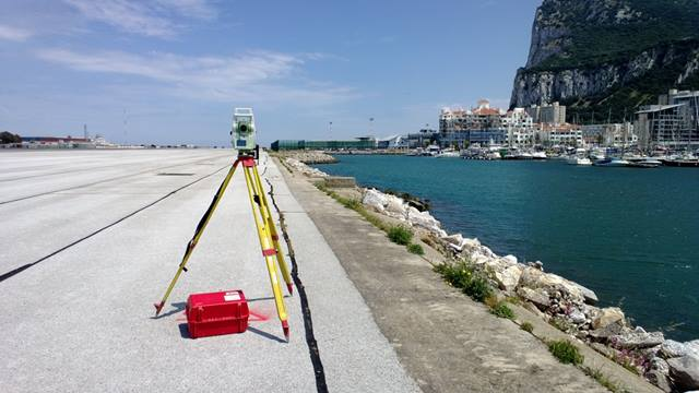 Ramboll. Ramboll's Geomatics team carried out extensive surveys throughout the airport complex and adjacent to the international boundary