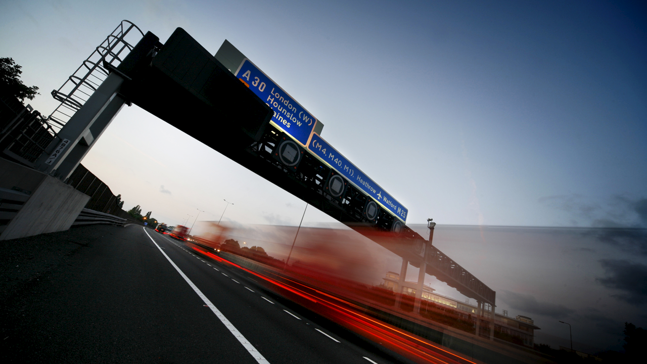 M25 extensive works by Ramboll. Photo: Daniel Shearing