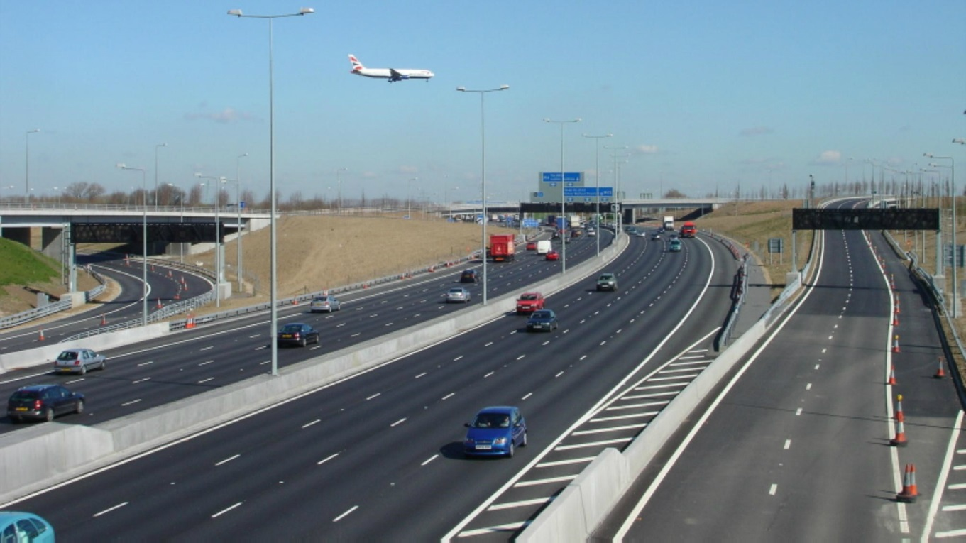 M25 T5 spur Heathrow. Ramboll