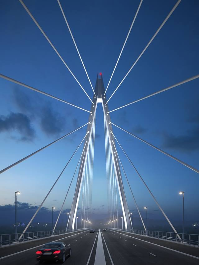 Sunderland City Council. Artist's impression of the crossing after completion