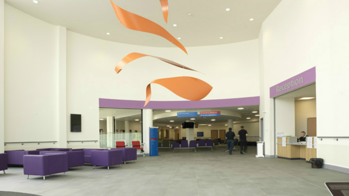 Northumbria hospital reception