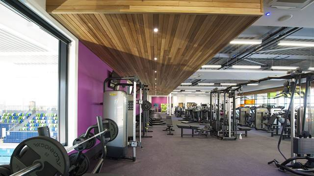 Ramboll. Oldham Leisure Centre, state of the art gym. Image: Courtesy of Willmott Dixon. Photographer: Christian Smith