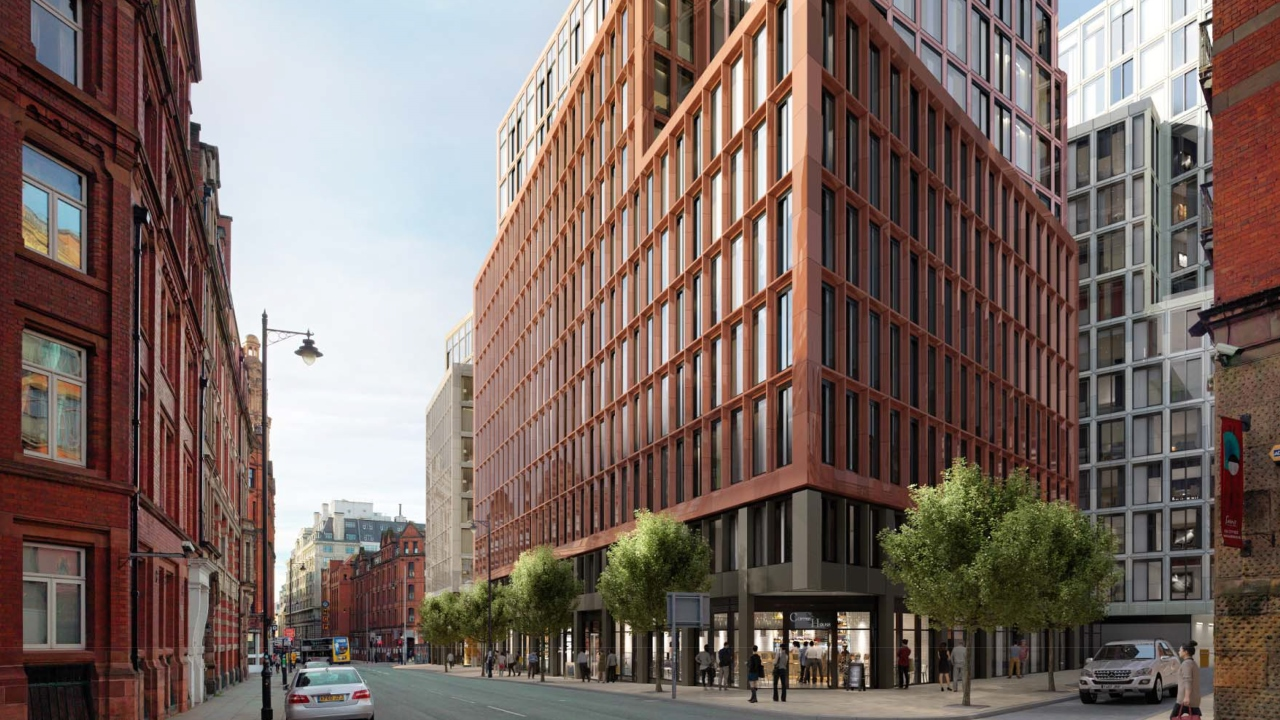 Ramboll. Princess Street development. Image: SimpsonHaugh & Partners