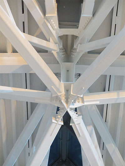 Main Terminal Truss Junction Detail