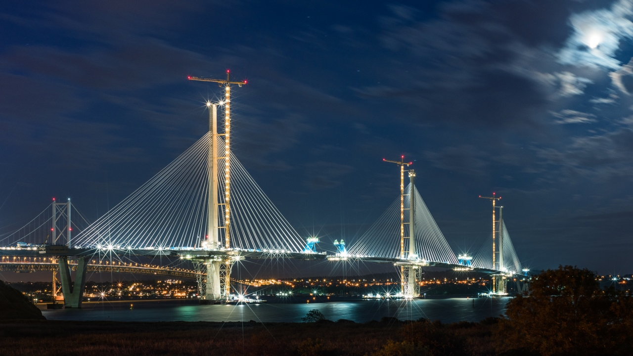 Queensferry Crossing (c) Transport Scotland