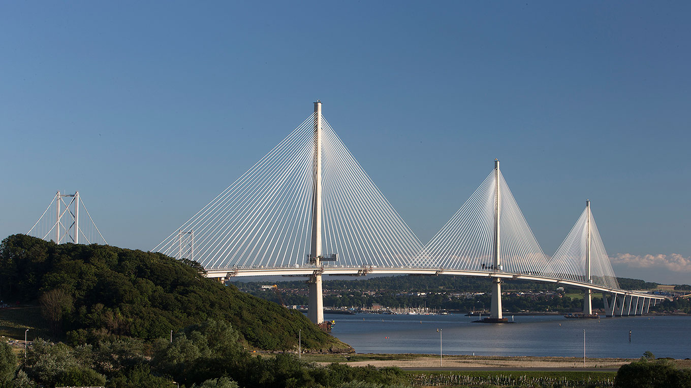 The Queensferry Crossing. Image courtesy Transport Scotland. Ramboll provides a wide range of infrastructure & transport services