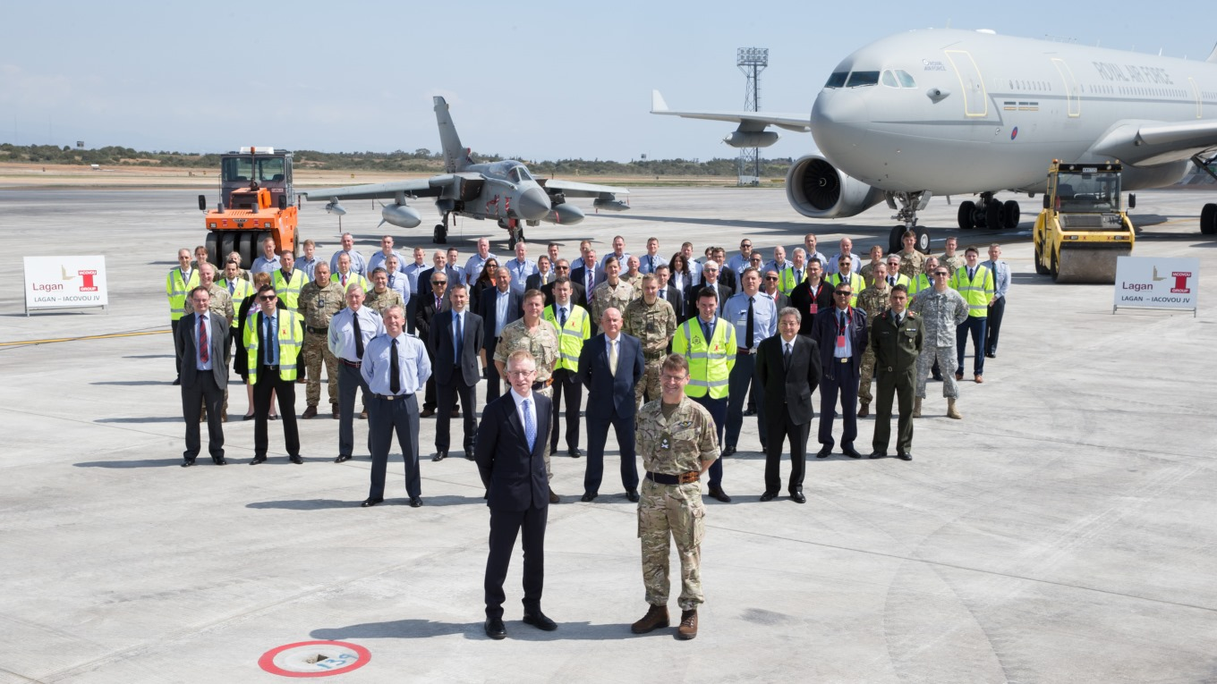 RAF Akrotiri officially reopens, March 2017 © RAF Command Photographer, courtesy of DIO