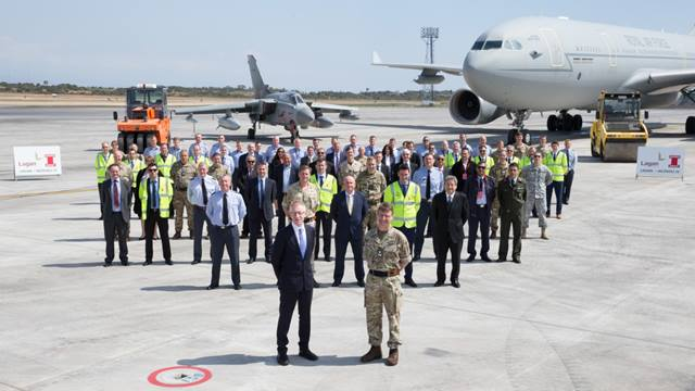 RAF Command Photographer. RAF Akrotiri officially reopens, March 2017 and is now better equipped to combat threats to national security. Image courtesy of DIO
