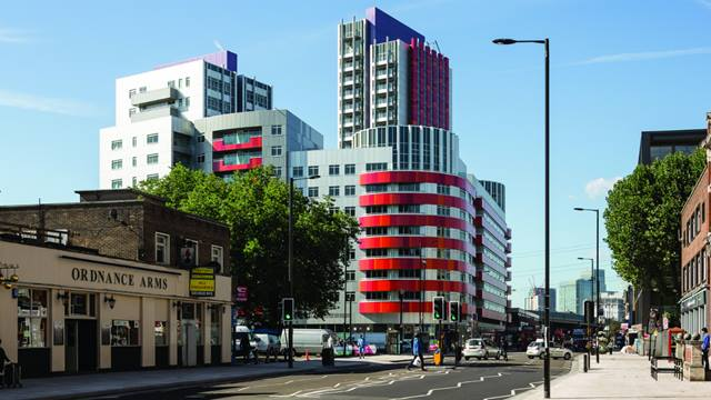 Phase 1 development bordering Barking Road - Image: Tim Crocker