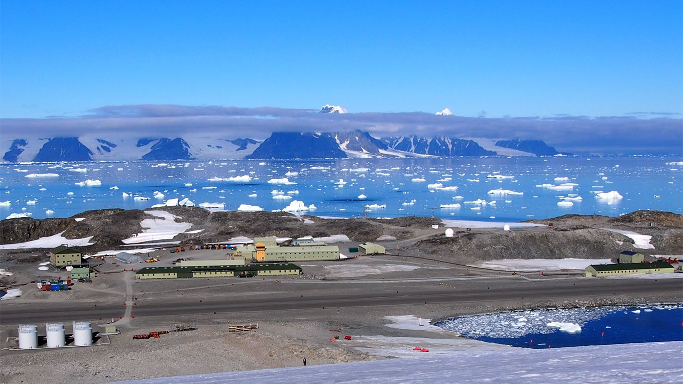 Rother Research Station. Image courtesy of British Antarctic Survey.