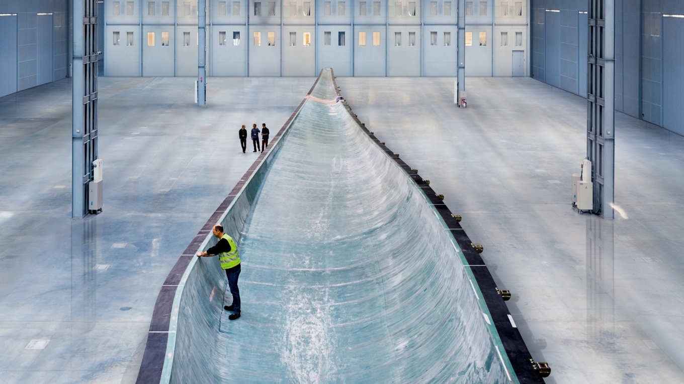 Ramboll. Wind turbine mould. Image courtesy of Siemens.