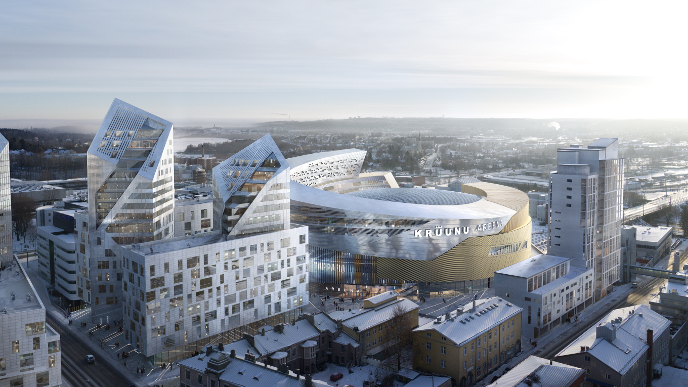 Ramboll. Tampere Arena, Finland. Image: Tomorrow AB