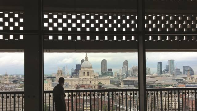 View of St. Paul's Cathedral from roof terrace. Image: Kai Richter