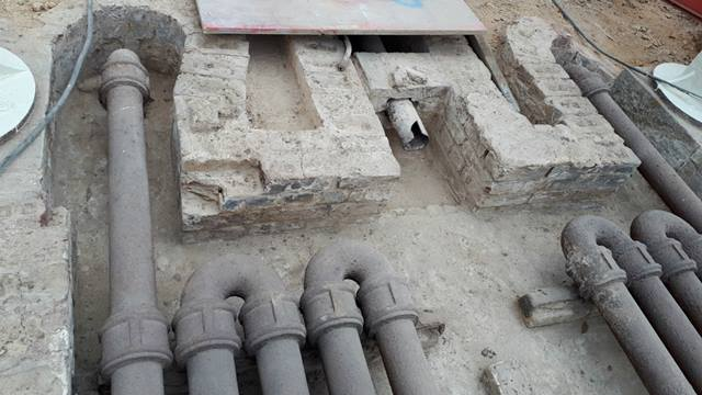 Ramboll: Original Victorian pipes discovered during renovation