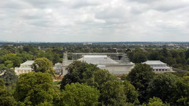 Ramboll: As the scaffolding is removed the gleaming Temperate House stands out against the London skyline