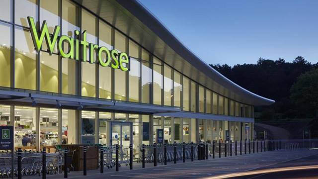 This redevelopment of the former Notcutts Garden Centre created this new Waitrose store.
