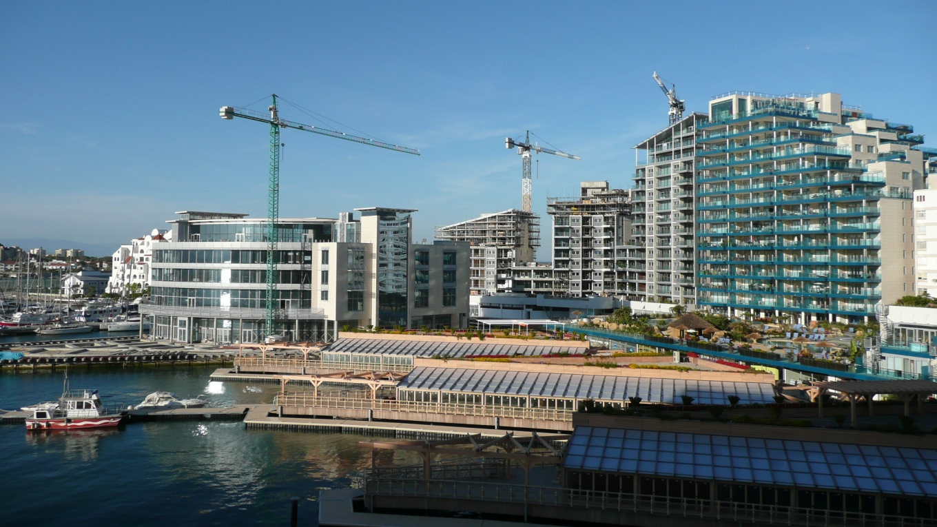 Ramboll. Tradewinds residential, Gibraltar. Image courtesy of MSMR Architects.