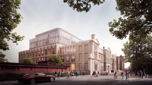 Artist's impression of new Institute of Neurology and Dementia Research Institute © UCL