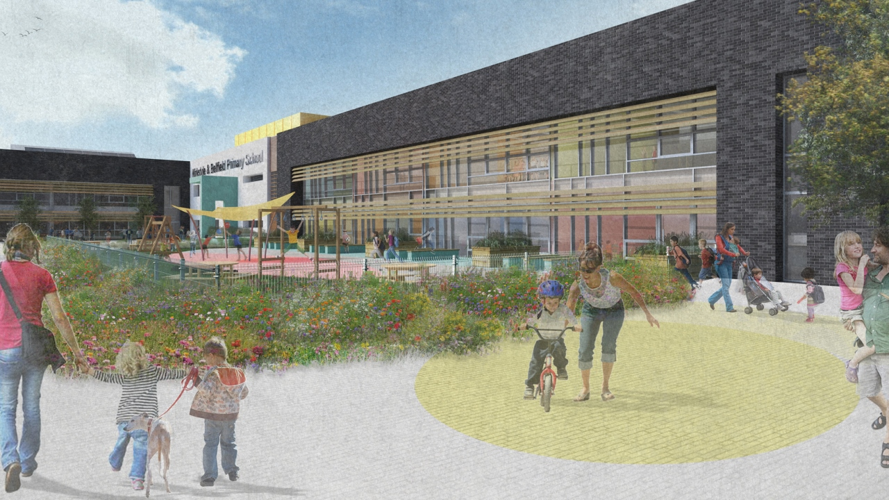 Ramboll. Whatriggs Primary School and Early Childhood Centre. Image Courtesy of East Ayrshire Council