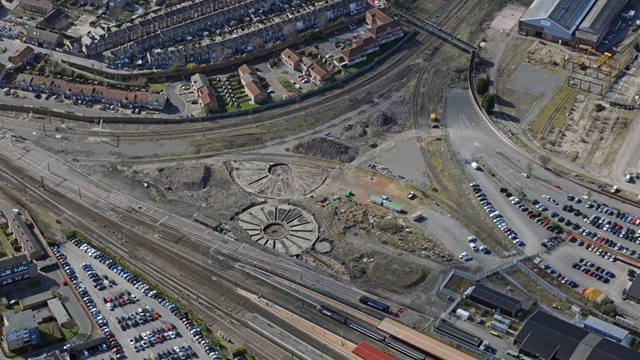 Ramboll. Network Rail Operating Centre Aerial View. Image: Roger Pearson