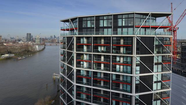 Riverlight development, Nine Elms, London.