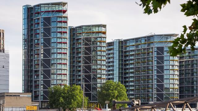Photo: Paul Raftery Riverlight development, Nine Elms, London.