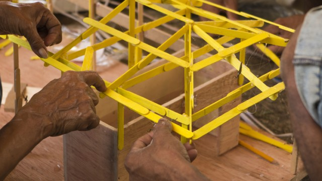 Workshop Architecture Roof modeling workshop - Streetlight project, Tagpuro
