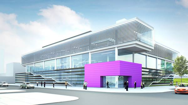 The University of Manchester's Graphene Engineering Innovation Centre (GEIC)