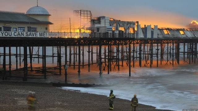 Ramboll. Hastings Pier. Fire 2010