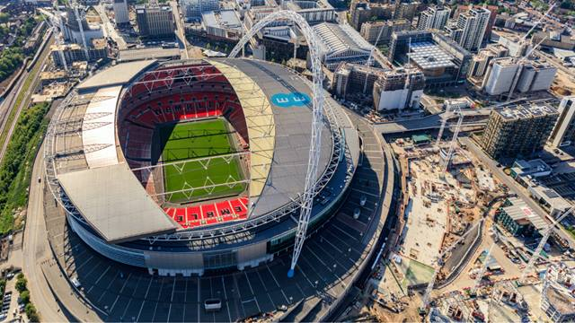 We were appointed to Wembley Park which will become the UK's largest build-to-rent complex image Courtesy of Quintain, Image High Level Photography