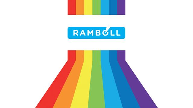 Ramboll's LGBT+ Allies Network was established in 2017 to improve members' visibility and wellbeing, internally and within the wider construction industry.