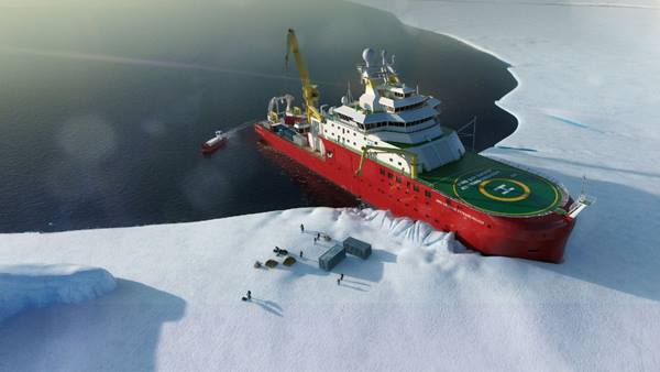RRS Sir David Attenborough Image: BAS